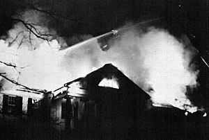 Welch Hall (Missouri) - 1965 fire at Sigma Alpha Epsilon