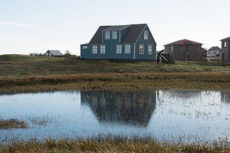 Sandgerði - Image: Sandgerði Hit Iceland house