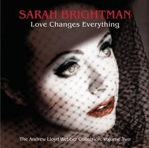 Love Changes Everything (Sarah Brightman album) - Image: Sarah Brightman Love Changes Everything