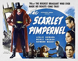 The Scarlet Pimpernel (1934 film) - theatrical release lobby card