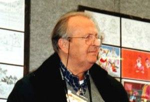 Romano Scarpa - Romano Scarpa at an Exposition in Rome in 2000.