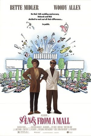 Scenes from a Mall - Theatrical release poster