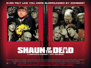 <i>Shaun of the Dead</i> 2004 zombie comedy film directed by Edgar Wright
