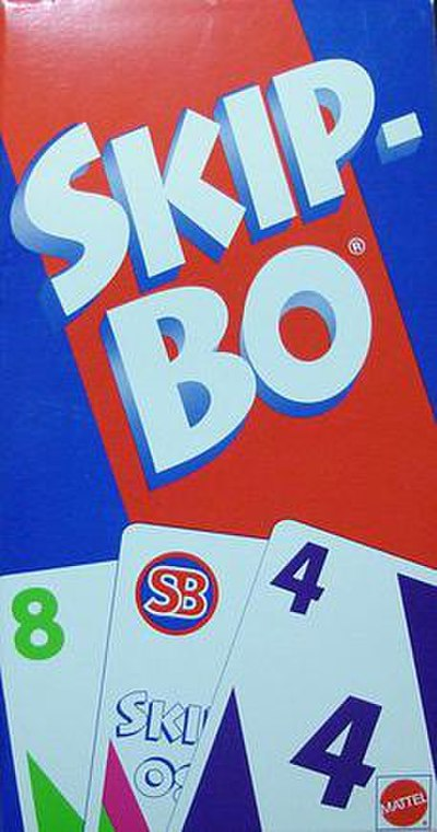 Picture of a game: Skip-Bo