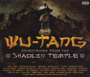 Soundtracks from the Shaolin Temple - Image: Soundtracks from the Shaolin Temple Album Cover Front