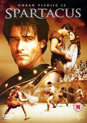 Spartacus (miniseries) - UK Region 2 DVD cover