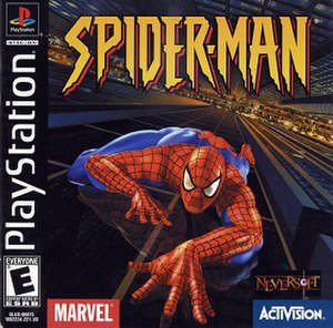 Spider-Man (2000 video game) - North American PlayStation cover art