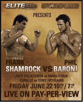 Strikeforce: Shamrock vs. Baroni - Image: Strikeforce Shamvs Barn banner