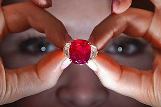 25.59-carat ruby from Myanmar