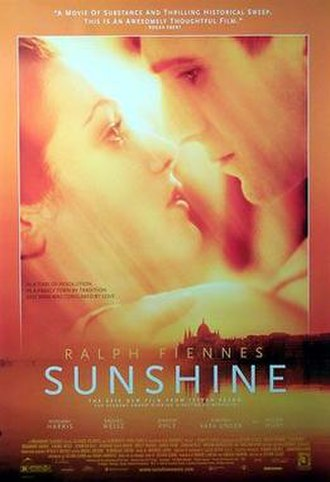 Sunshine (1999 film) - Theatrical release poster