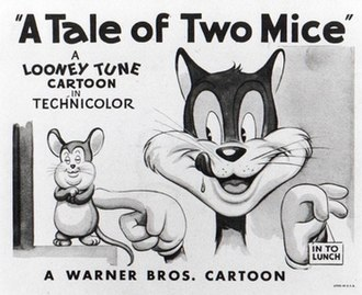 Tale of Two Mice - The original title card of A Tale Of Two Mice.