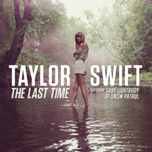 Taylor Swift - The Last Time (feat. Gary Lightbody) (Single Cover officiel) .png