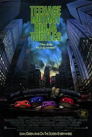 Teenage Mutant Ninja Turtles (1990 film) - North American release poster