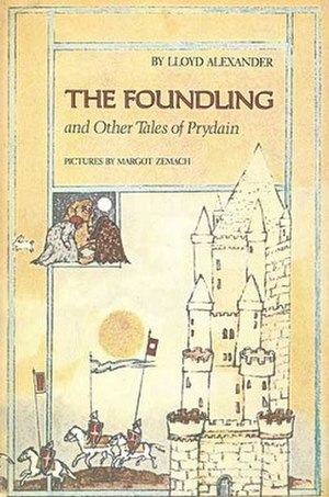 The Foundling and Other Tales of Prydain - Cover of the first edition with Zemach artwork