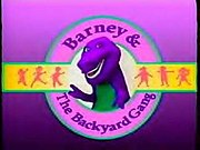 Logo of Barney and the Backyard Gang.