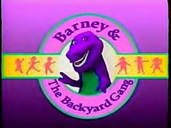 Barney & The Backyard Gang Barney In Concert barney and the backyard gang - wikipedia