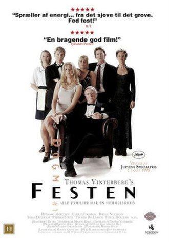Festen - Theatrical release poster