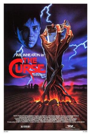 The Curse (1987 film) - Original movie poster