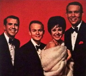 The J's with Jamie - The group depicted in the cover art for The two sides of the J's with Jamie (1963).