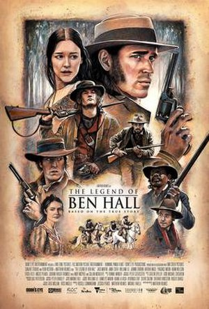 The Legend of Ben Hall - Theatrical film poster