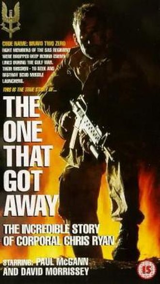 The One That Got Away (1996 film) - DVD cover art