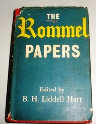 B. H. Liddell Hart - Image: The Rommel Papers book cover