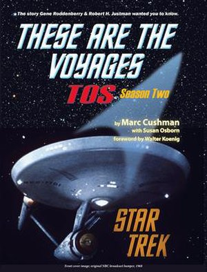 These Are The Voyages: TOS, Season Two - Front Cover