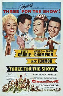 <i>Three for the Show</i> 1955 film by H. C. Potter