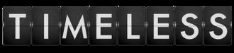 Timeless (TV series) - Image: Timeless (TV) logo