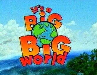 It's a Big Big World - Title card
