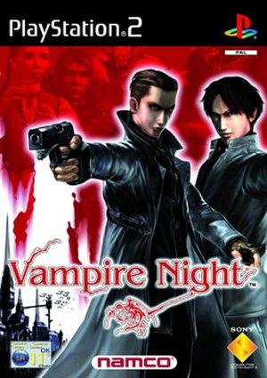 Vampire Night - Console version cover art