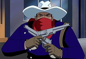Vigilante (comics) - Greg Saunders / Vigilante in Justice League Unlimited.