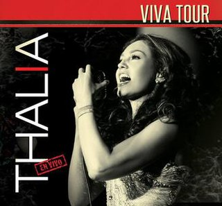 <i>Viva Tour</i> (album) 2013 live album by Thalía