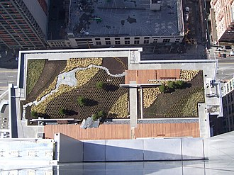 Russell Investments Center - Image: Wamugardenroof