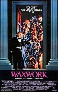 <i>Waxwork</i> (film) 1988 film by Anthony Hickox