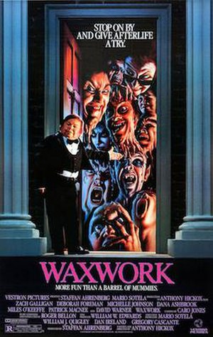 Waxwork (film) - Theatrical film poster