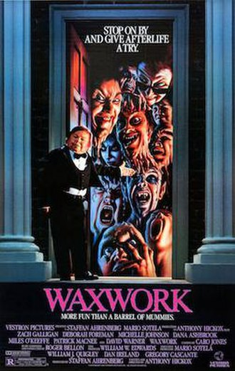 Waxwork (film) - Theatrical film poster