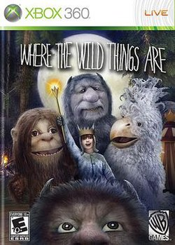 Where the Wild Things Are (Xbox 360) (video game) boxart.jpg
