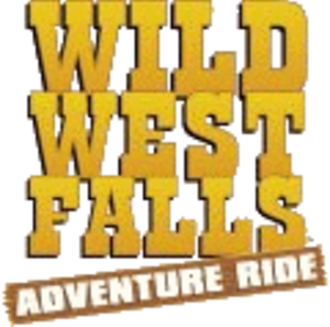 Wild West Falls Adventure Ride - Image: Wild West Falls Adventure Ride logo