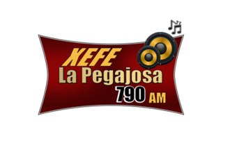 XEFE-AM - La Pegajosa logo used until 2016