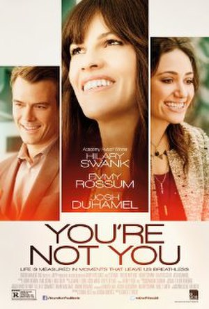 You're Not You - Theatrical release poster