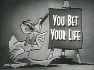 You Bet Your Life - 1955–1960 title card