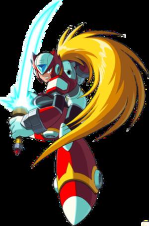 Zero (Mega Man) - Image: Zero mmx