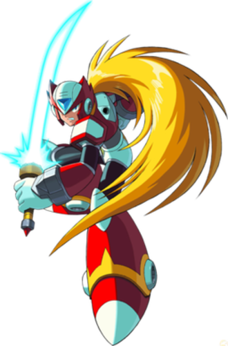 Zero (Mega Man) - Zero as he appears in the X series