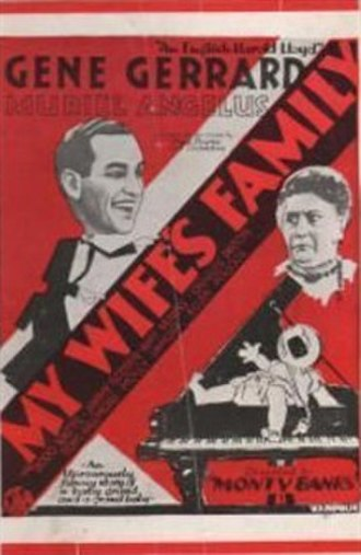 The Wife's Family - Poster in British Movie Herald