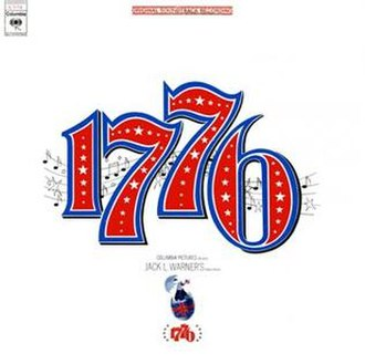 1776 (film) - 1776 Original Motion Picture Soundtrack album cover