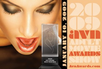 26th AVN Awards - Image: 2009 Adult Video News Awards Logo and Promotional Image