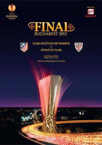 2012 UEFA Europa League Final - Image: 2012 UEFA Europa League Final programme