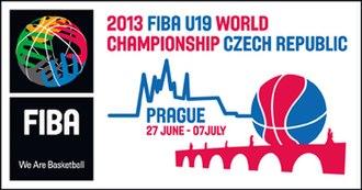 2013 FIBA Under-19 World Championship - Image: 2013 FIBA Under 19 World Championship logo