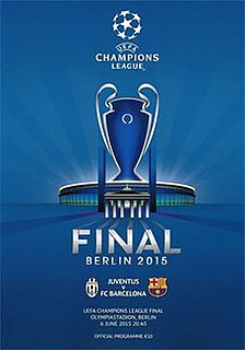 2015 UEFA Champions League Final Final match of UEFA Champions League 2014/15 season